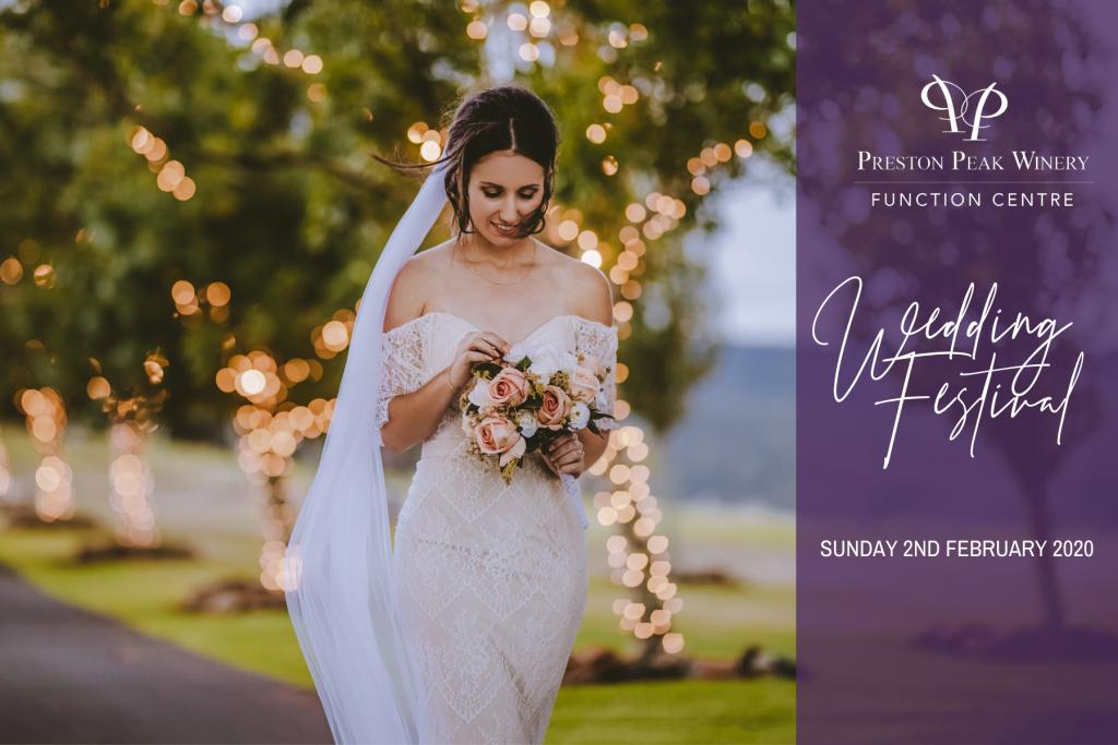 Preston peak winery weddings toowoomba